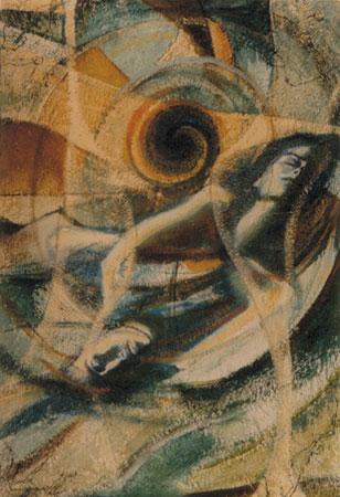 Estasi - epossidico olio su tela 70x50 (1998