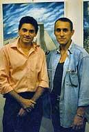 URIGELLE con il prof. Bonanni dell'Ass. Rosso Tiziano