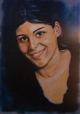 Ritratto olio e acrilico su tela 70x50 (2003)